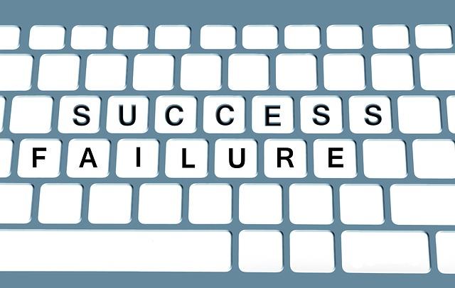 Does failure teach anything?No.